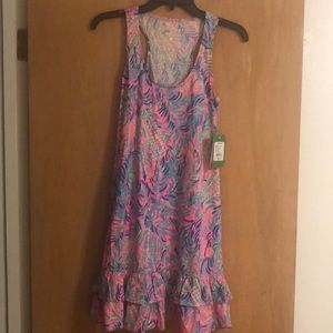 NWT Lilly Pulitzer Evangelina Dress Coco Breeze